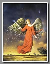 jesienny aniol