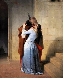 HAYEZ Francesco le baiser